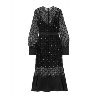 DAVID KOMA Evening dress night out Black for women Cheap for sale near me QZXBC7565