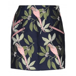 GUESS Mini skirt for plus size Dark blue Clothing Women Discount WRBZM3863