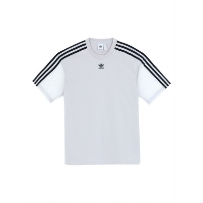 ADIDAS ORIGINALS Athletic tops for summer Grey Tops Girls On Line T-SHIRT Athletic tops 90HM56130