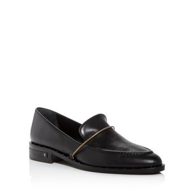 Freda Salvador Girls Shoes Women's Light Embossed Loafers Black Calf size 12 2021 New LCPA254