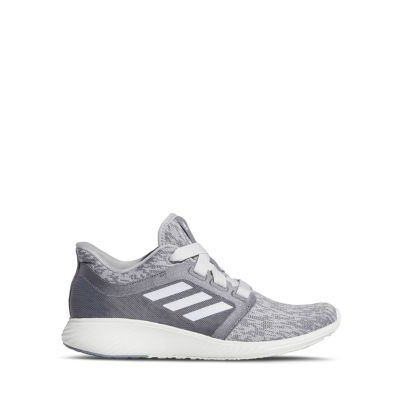 Adidas Women's Edge Lux 3 Knit Athletic Sneakers Women Shoes Medium Gray for wide feet ZORI855