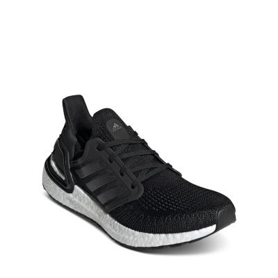 Adidas Women's UltraBOOST 20 Low-Top Sneakers Girls Shoes Black/White NNMW820