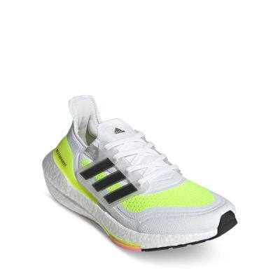 Adidas Women's Ultraboost 21 Lace Up Sneakers Shoes for Girl White BQKR999