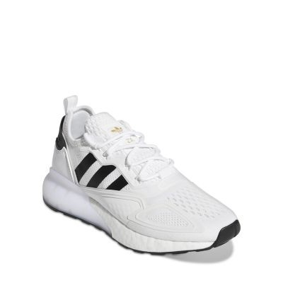 Adidas Women's ZX 2K Boost Lace Up Sneakers Shoes for Girl White/Black size 7 LLJN563