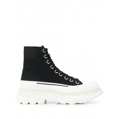 Alexander McQueen shoes lace-up chunky sneakers shoes for women slip on new in JOQH891