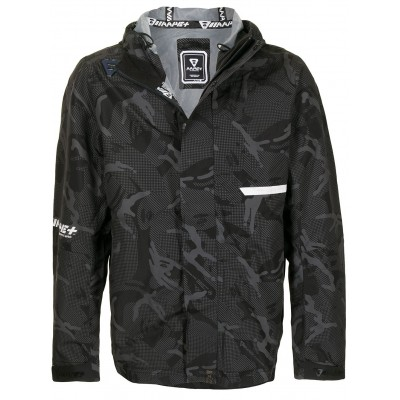 AAPE BY *A BATHING APE® Clothing camouflage-print hooded parka for spring for Male LTXH133