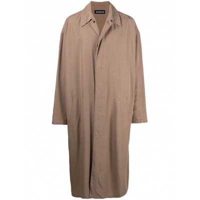 Balenciaga Outwear mid-length car coat plus size for Male on style FNKM265