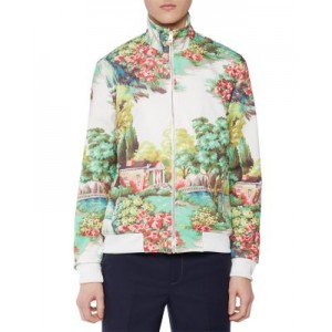 Paul Smith Outwear Gents 50th Anniversary Track Jacket for Men Light Gray size 3x WLSY360
