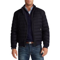 Polo Ralph Lauren Clothes Reversible Water-Repellent Down Bomber Jacket for Young Men Navy size 50 JMNA621
