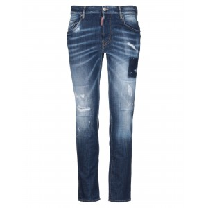 DSQUARED2 Denim pants fit Blue Jeans outfits online shopping for Boy 6LYD04232