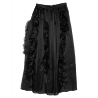 ERMANNO SCERVINO Maxi Skirts express Black clothing for women the best Cut Off on sale online W0KIP5288