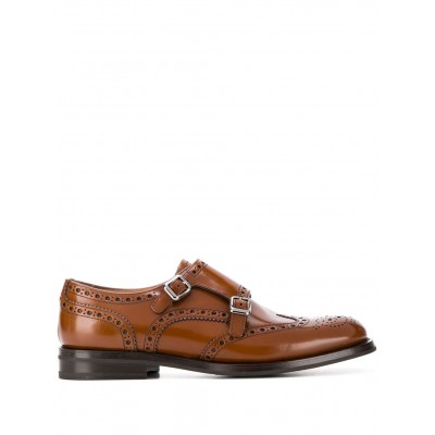 Church's Lana R monk-strap brogues for flat feet for Lady New Season ROOP360