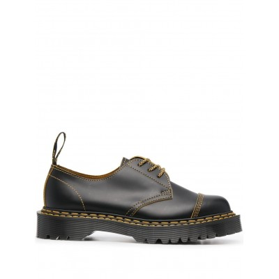 Dr. Martens contrast leather oxford shoes for women shopping ZLXZ960