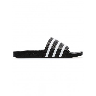 adidas shoes black and white Adilette slides shoes wide width for Lady TPSJ659