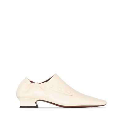Manu Atelier shoes square-toe 30mm loafers Girls shoes GCQH433