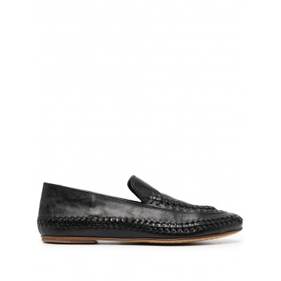 Officine Creative shoes Bessie braided-detail loafers size 9.5 for women shoes Top Sale DQYU190