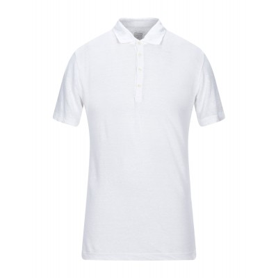 120% Polo shirt in tall White Tops for Young Men on clearance Hot Sale MQFEJ2825