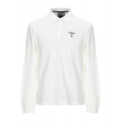 ALPHA STUDIO Polo shirt in 3xl Ivory Tops for Boy Casual Cut Off in store Z23185719
