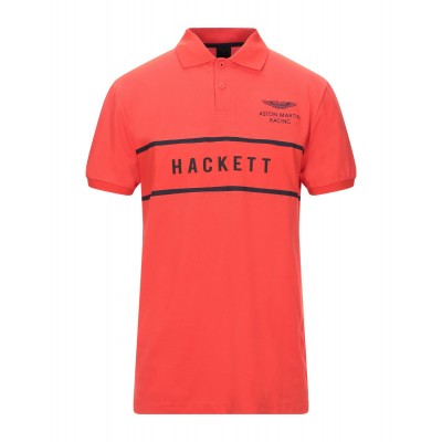 ASTON MARTIN RACING by HACKETT Polo shirt Orange Tops for Men On Line Cheap On Line GTHS15419