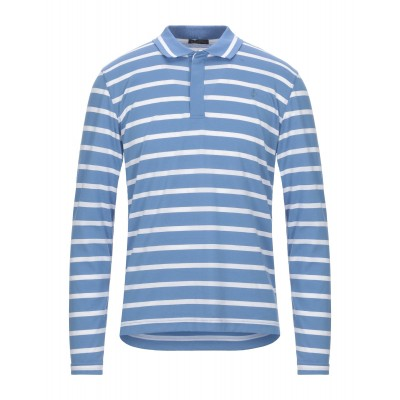 BALLANTYNE Polo shirt xl tall Pastel blue Tops for Male Clearance Sale in store ECKNT3335