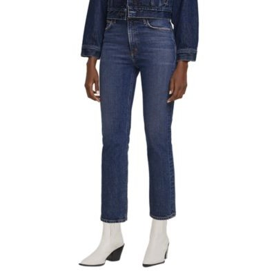 AGOLDE Wilder Straight Jeans in Hype for girl Hype plus size New Season IOJW399