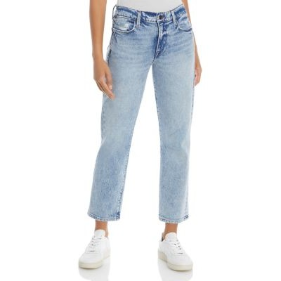 FRAME Le High Straight Leg Jeans in Lombard Women Lombard plus size JUYF892