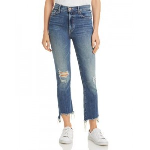 MOTHER The Insider Cropped Step Hem Jeans in Dancing On Coals Women Dancing On Coals skinny lifestyle OMPL499