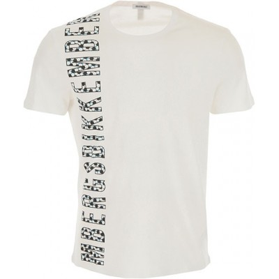 Bikkembergs T-Shirt Clothing White Collection Discount for Men OKKJ554