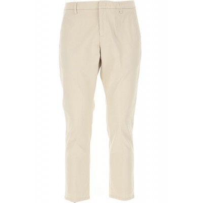 Dondup Pants Beige 50x29 in style for Male HMSL686