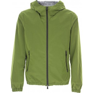Herno Jackets Green size 50 On Line for Men JPIF624