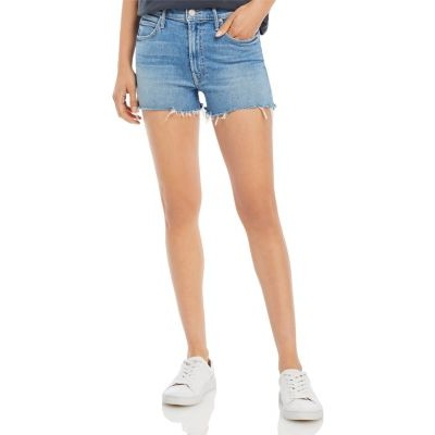 MOTHER Clothing The Dutchie Frayed Shorts in Independent Studies Girls Independent Studies Cut Off PAPP344