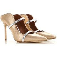 Malone Souliers lady Pumps Gold Selling Well QCDJ924
