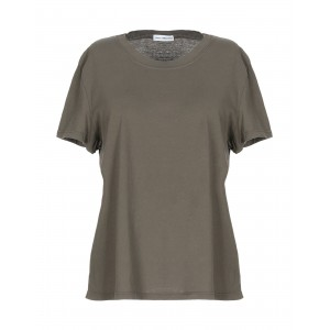JAMES PERSE T-shirt for work Military green Tops for Lady Cheap BON8V8177
